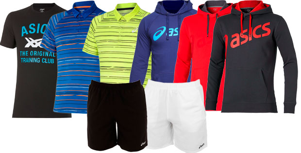 outlet asics ropa