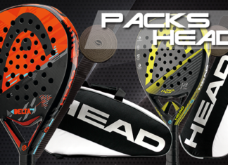 Packs de pádel HEAD.