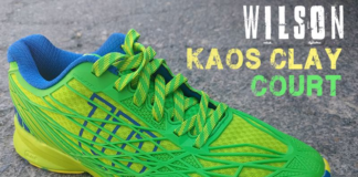 Zapatillas Wilson Kaos Clay Court Azul