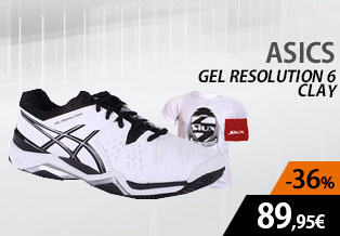 Asics Gel resotiuon 6 clay