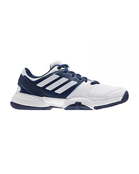Zapatillas Adidas Junior Barricade Club Xj Blanco Azul Marino