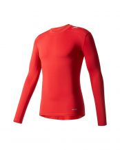 CAMISETA ADIDAS TF BASE LS ROJO