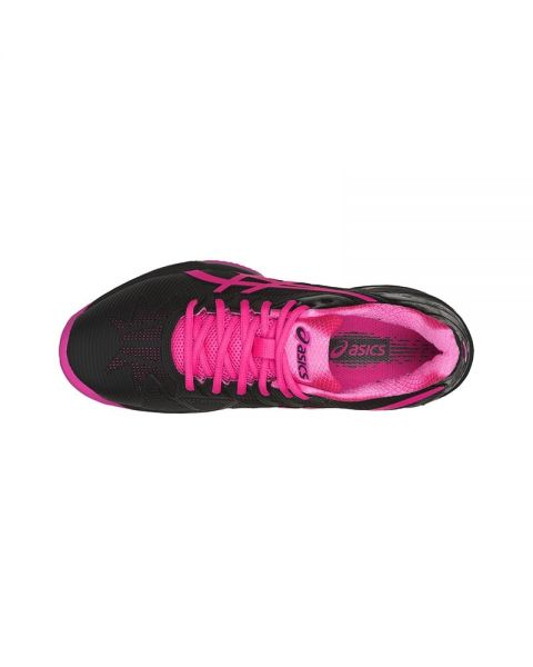 ASICS GEL SOLUTION SPEED 3 CLAY NEGRO FUCSIA MUJER E651N 9020