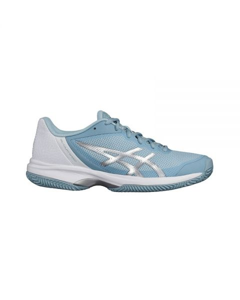 Asics Gel Court Speed Clay Azul Blanco E851n 1493