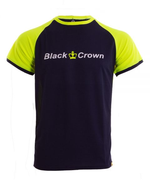 CAMISETA BLACK CROWN JAIPUR MARINO AMARILLO