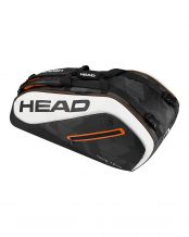 RAQUETERO HEAD TOUR TEAM 9R SUPERCOMBI NEGRO BLANCO