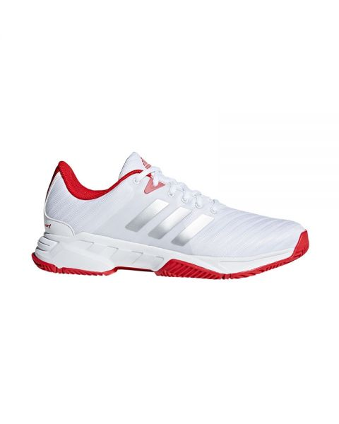 Adidas Barricade Court 3 Blanco Rojo Cm7814