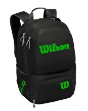 MOCHILA WILSON TOUR V BACKPACK NEGRO LIMA