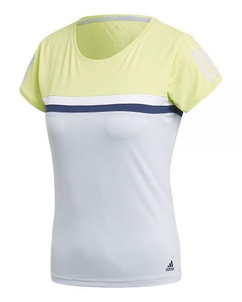 Camiseta ADIDAS Club Mujer Amarillo Azul 38d4eeacba3
