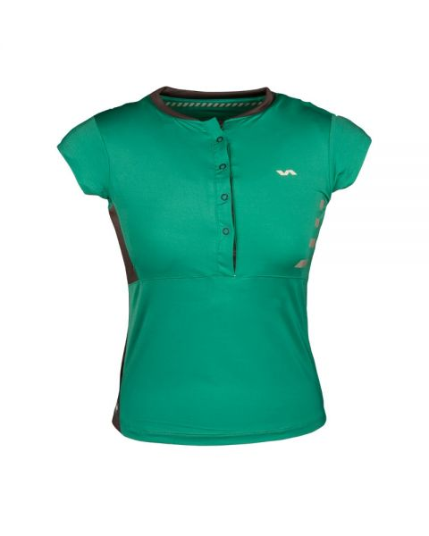 POLO VARLION M/C VERDE MUJER