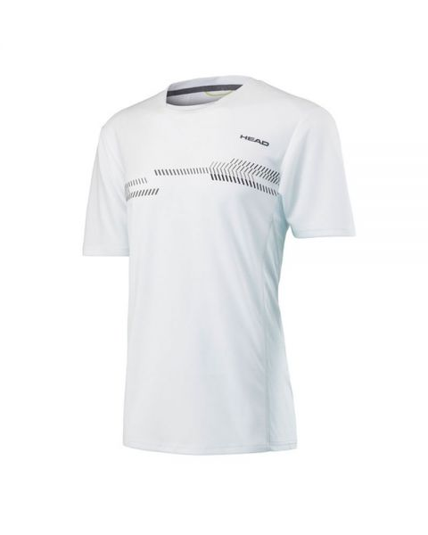 CAMISETA HEAD TÉCNICA CLUB BLANCO