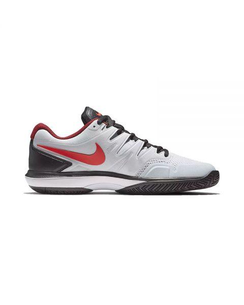 649d23ee0df Zapatilla Nike Air Zoom Prestige Hc Plata Negro - Comodidad reactiva