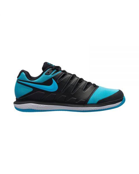 Nike Air Zoom Vapor X Clay Azul Negro Diseño de alta calidad