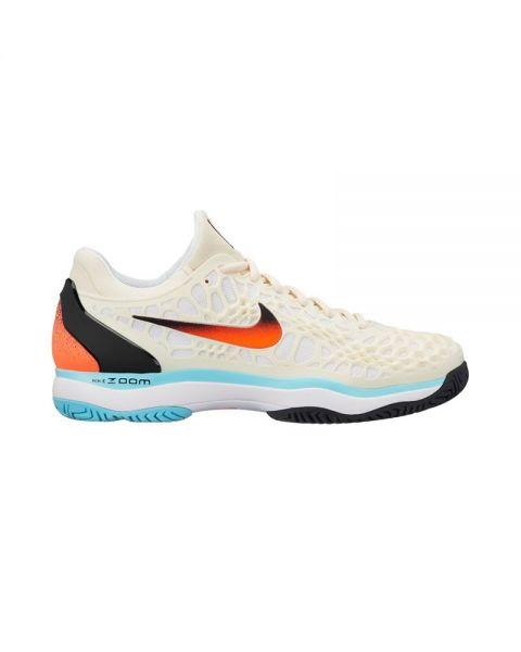 aa43c9043d0 Nike Zoom Cage 3 HC Crema - Diseño cómodo