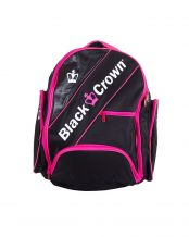 MOCHILA BLACK CROWN NEGRO ROSA