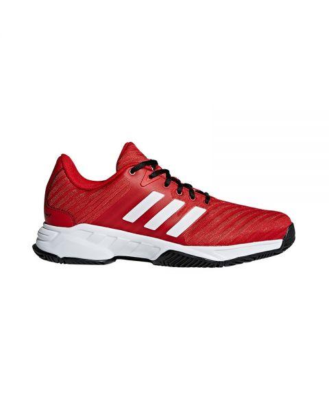 Adidas Barricade Court 3 Rojo Blanco Ah2080