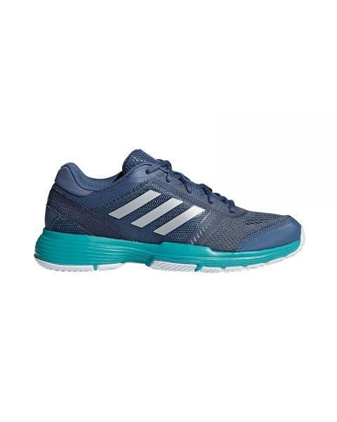 Adidas Barricade Club Gris Azul Mujer Ah2098