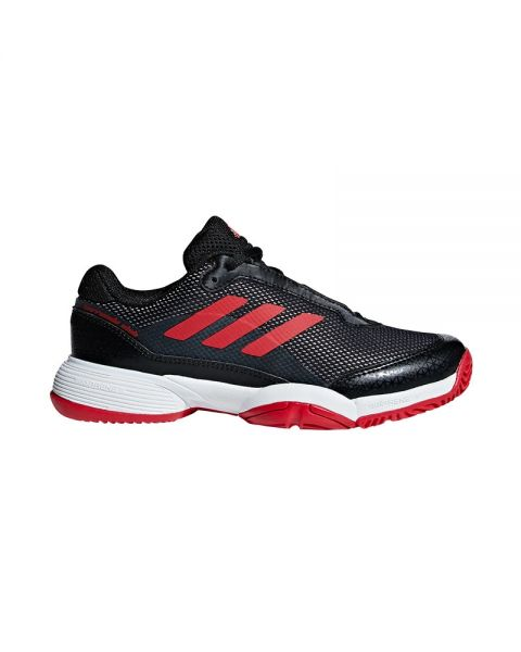 Adidas Barricade Club Xj Niño Rojo Negro Bb7935
