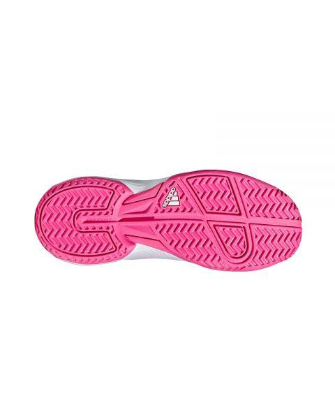 Zapatilla adidas adizero club k niña blanco rosa Ofertas
