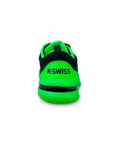 adb36284 K-Swiss Knitshot Negro Verde - Confort y diseño
