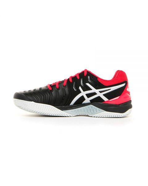 ASICS GEL RESOLUTION 7 CLAY ROJO NEGRO E702Y 001