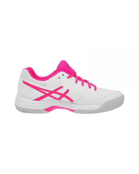 ASICS GEL GAME 6 CLAY ROSA BLANCO MUJER E756Y 100