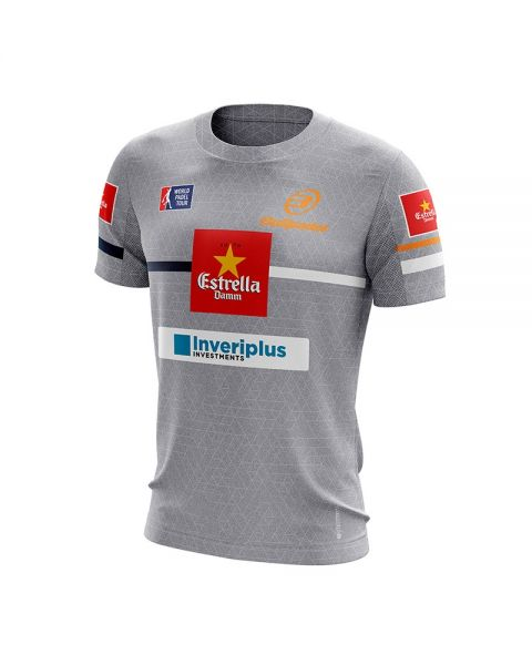CAMISETA BULLPADEL INTRIA MAXI SANCHEZ GRIS