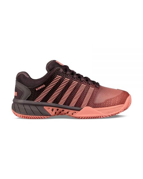 Kswiss Hypercourt Express Hb Negro Coral Mujer 93378093
