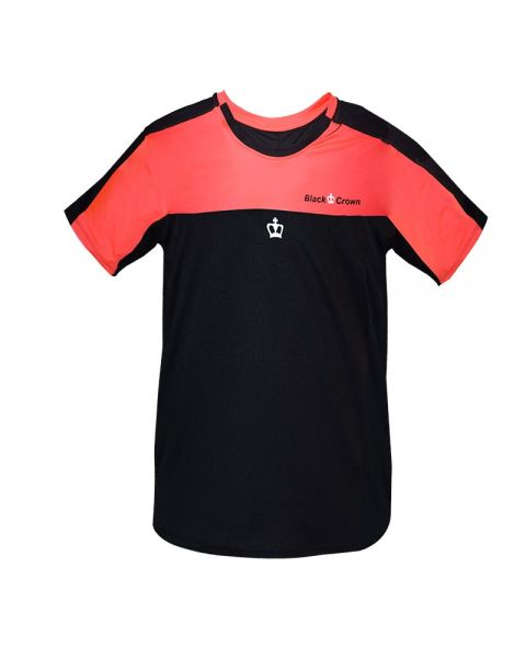 CAMISETA BLACK CROWN MAX CORAL NEGRO
