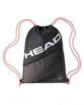 BOLSA HEAD TOUR TEAM SHOE SACK NEGRO PLATA