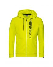 SUDADERA HEAD CLUB FYNN AMARILLO