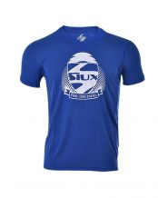 CAMISETA SIUX DRY AZUL ROYAL BLANCO