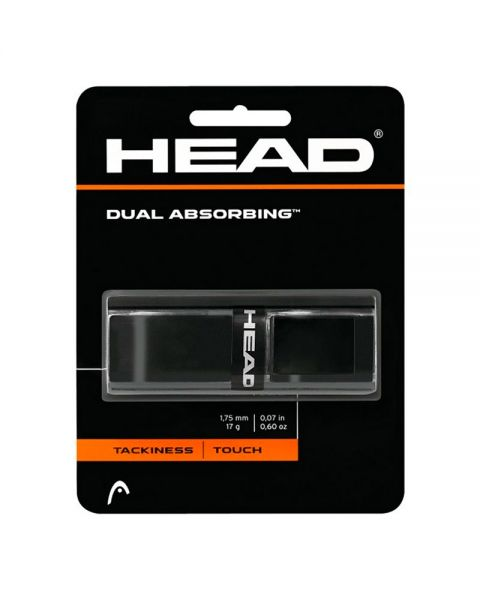 GRIP HEAD DUAL ABSORBING NEGRO