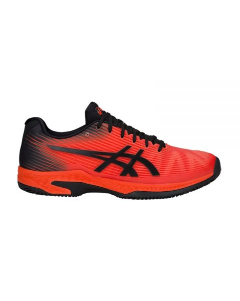 Asics Gel Solution Speed Ff Rojo Negro
