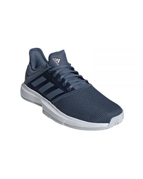 ADIDAS GAMECOURT GRIS BLANCO EE3817