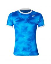 CAMISETA ASICS CLUB GRAPHIC AZUL