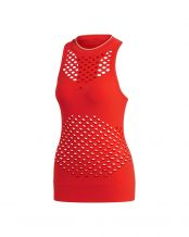 CAMISETA SIN MANGAS ADIDAS BY STELLA MCCARTNEY COURT SEAMLESS ROJO MUJER