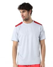 CAMISETA BULLPADEL COCONUT GRIS MEDIO