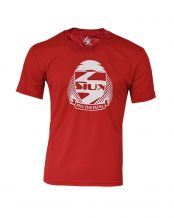 CAMISETA SIUX DRY ROJO BLANCO JUNIOR