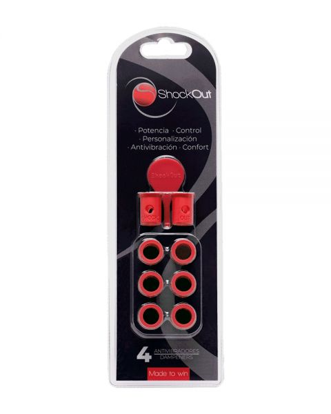 ANTIVIBRADOR SHOCKOUT ROJO