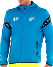 SUDADERA BULLPADEL SNAG JR AZUL