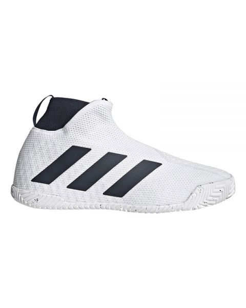 Adidas Stycon Laceless Hard Court Bianco Nero