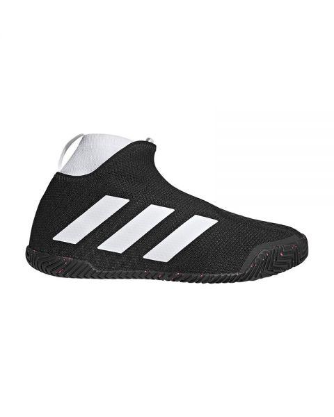 Adidas Stycon Laceless Hard Court Negro Blanco