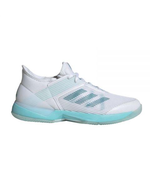 Adidas Adizero Ubersonic 3 Azul Blanco Mujer Cg6443
