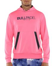 SWEAT-SHIRT BULLPADEL MADALETA GAUFRETTE FRAISE ACIDE