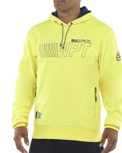 SWEAT-SHIRT BULLPADEL VIOTA JAUNE SOUFRE FLUO