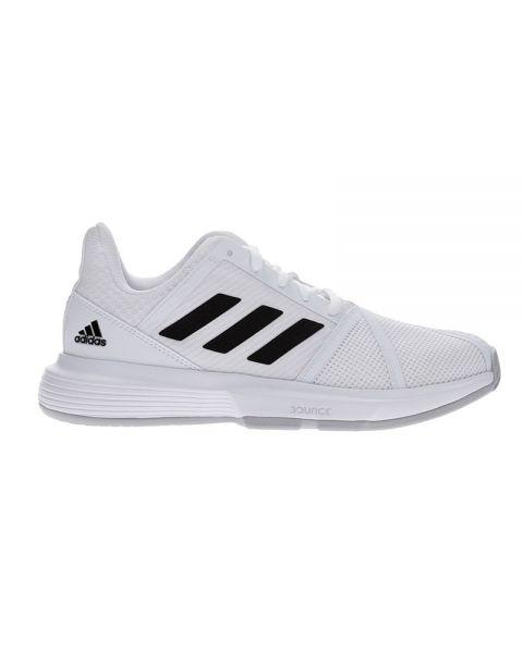 Adidas Courtjam Bounce Blanco Negro Mujer Ef2765