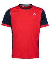 CAMISETA HEAD DAVIES ROJO NAVY