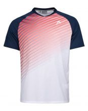 CAMISETA HEAD PERFORMANCE BLANCO AZUL