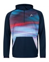 SUDADERA HEAD POWER AZUL ROJO